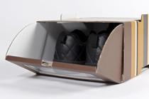 Caja de zapato puerta delantera