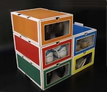 Caja de zapatos de colores