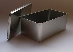 Caja de zapatos metal